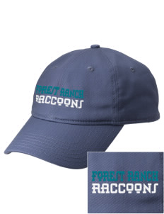 Forest Ranch Elementary School Raccoons  Embroidered New Era Adjustable Unstructured Cap