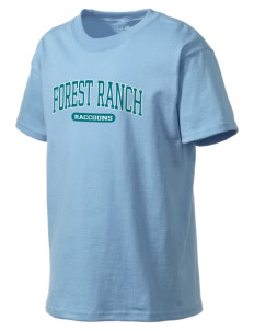 Forest Ranch Elementary School Raccoons Kid's Lightweight T-Shirt