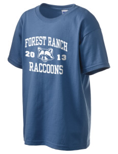 Forest Ranch Elementary School Raccoons Kid's 6.1 oz Ultra Cotton T-Shirt