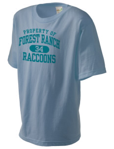 Forest Ranch Elementary School Raccoons Kid's Organic T-Shirt