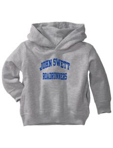 John Swett Elementary School Roadrunners  Toddler Fleece Hooded Sweatshirt with Pockets