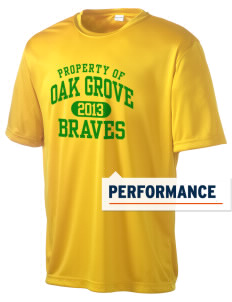 Oak Grove Middle School Braves Men's Competitor Performance T-Shirt