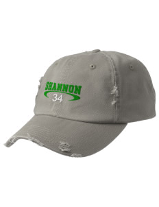 Shannon Elementary School Leprechauns Embroidered Distressed Cap