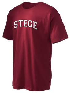 Stege Elementary School Stars Hanes Men's 6 oz Tagless T-shirt