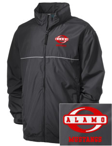 Alamo Elementary School Mustangs Embroidered Men's Element Jacket