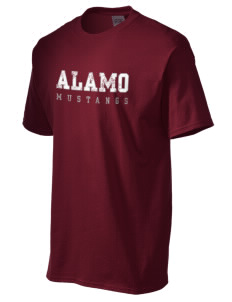Alamo Elementary School Mustangs Men's Essential T-Shirt