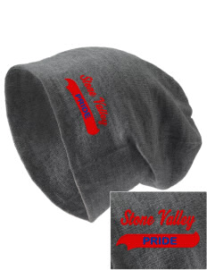 Stone Valley Middle School Pride Embroidered Slouch Beanie