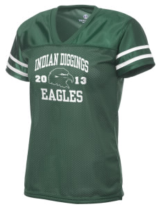 Indian Diggings Elementary School Eagles Holloway Women's Fame Replica Jersey