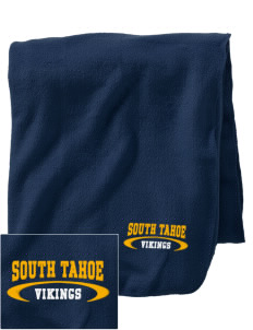 South Tahoe High School Vikings Embroidered Holloway Stadium Fleece Blanket