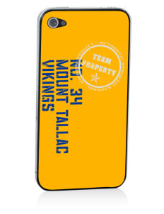 Mount Tallac High School Vikings Apple iPhone 4/4S Skin