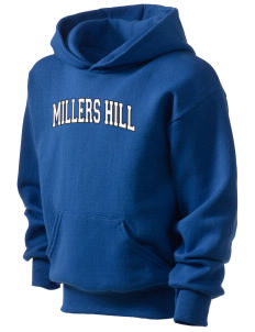 Millers Hill Middle School Hawks Kid's Hooded Sweatshirt