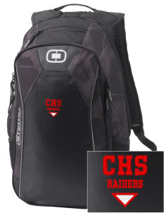 Caruthers High School Raiders Embroidered OGIO Marshall Backpack