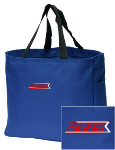 Caruthers High School Raiders Embroidered Essential Tote