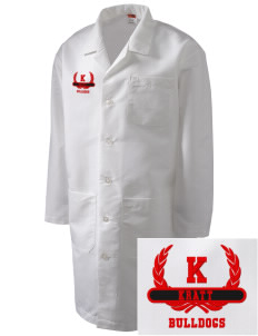 Kratt Elementary School Bulldogs Full-Length Lab Coat