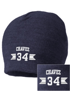 Chavez Elementary School Panthers Embroidered Beanie