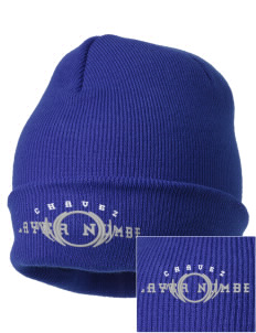 Chavez Elementary School Panthers Embroidered Knit Cap