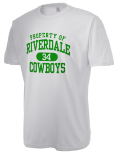 Riverdale High School Cowboys  Russell Men's NuBlend T-Shirt