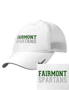 Fairmont Elementary School Spartans Embroidered Nike Golf Mesh Back Cap