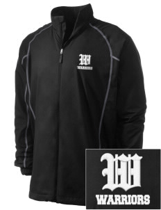 Washington Middle School Warriors Embroidered Men's Nike Golf Full Zip Wind Jacket