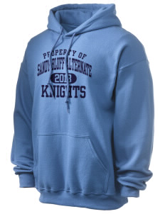 Sandy Bluff Alternate Education Center Knights Ultra Blend 50/50 Hooded Sweatshirt