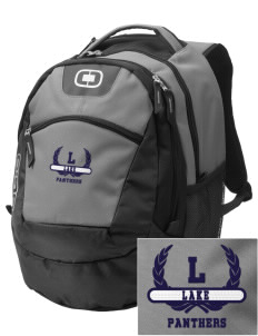 Lake Elementary School Panthers Embroidered OGIO Rogue Backpack