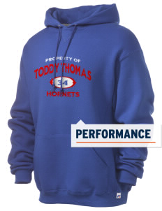 Toddy Thomas Elementary School Hornets Russell Men's Dri-Power Hooded Sweatshirt