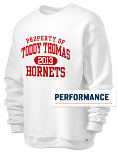 Toddy Thomas Elementary School Hornets  Russell Men's Dri-Power Crewneck Sweatshirt