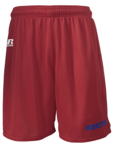 "Toddy Thomas Elementary School Hornets  Russell Men's Mesh Shorts, 7"" Inseam"