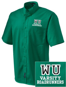 Westmorland Union Elementary School Roadrunners Embroidered Men's Easy Care Shirt