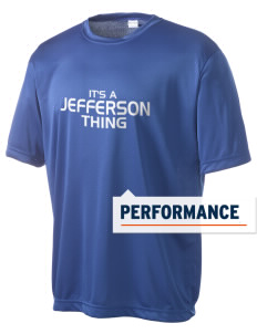 Jefferson Elementary School Patriots Men's Competitor Performance T-Shirt