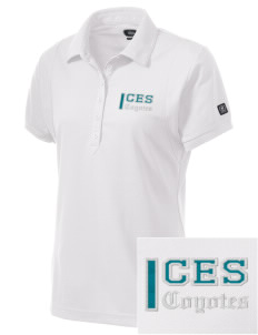 Carroll Elementary School Coyotes Embroidered OGIO Women's Jewel Polo