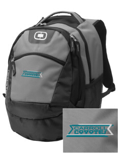 Carroll Elementary School Coyotes Embroidered OGIO Rogue Backpack