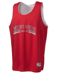 Mojave High School Mustangs Holloway Men's Halfcourt Reversible Basketball Jersey