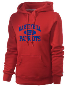 Gardenhill Elementary School Patriots Russell Women's Pro Cotton Fleece Hooded Sweatshirt