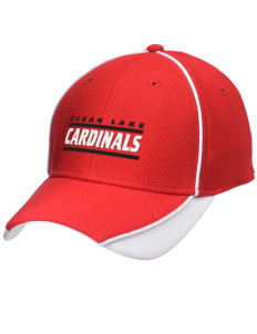 Clear Lake High School Cardinals Embroidered New Era Contrast Piped Performance Cap