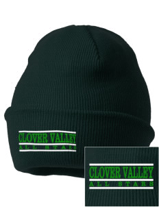 Clover Valley High School All Stars Embroidered Knit Cap