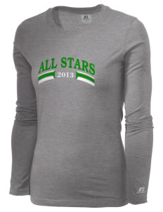 Clover Valley High School All Stars  Russell Women's Long Sleeve Campus T-Shirt