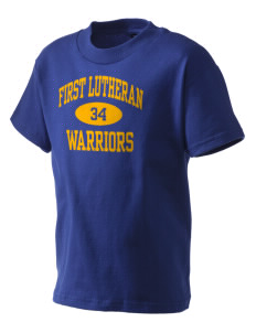 First Lutheran School Warriors Kid's T-Shirt