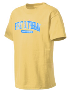 First Lutheran School Warriors Kid's Lightweight T-Shirt