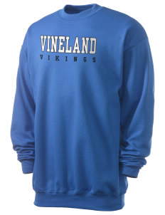 Vineland Elementary School Vikings Men's 7.8 oz Lightweight Crewneck Sweatshirt
