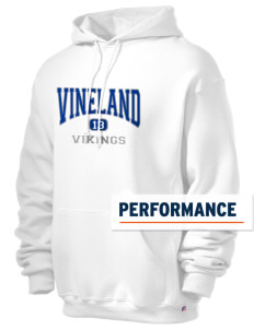 Vineland Elementary School Vikings Russell Men's Dri-Power Hooded Sweatshirt