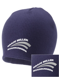 Grace Miller Elementary School Roadrunners Embroidered Knit Cap