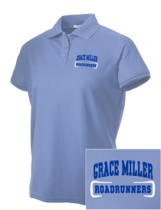 Grace Miller Elementary School Roadrunners Embroidered Women's Technical Performance Polo