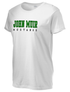 John Muir Middle School Mustangs Women's 6.1 oz Ultra Cotton T-Shirt
