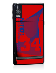 R K Lloyde Continuation High School Panthers Motorola Droid 2 Skin