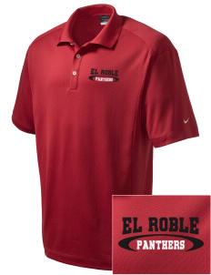 El Roble Intermediate School Panthers Embroidered Nike Men's Dri-Fit Classic Polo