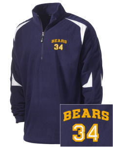 Warren High School Bears Holloway Embroidered Men's Torch Fleece 1/4-Zip Warmup Jacket