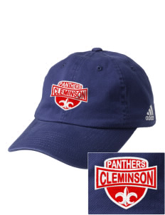 Cleminson Elementary School Panthers Embroidered adidas Relaxed Cresting Cap