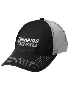 Thompson Elementary School Tigers Embroidered Mesh Back Cap