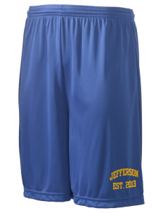 "Jefferson Elementary School Tigers Men's Competitor Short, 9"" Inseam"